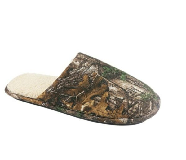 Realtree Xtra Men#x27;s Scruff Camo Slip on Slippers Shoes: S XL $16.99