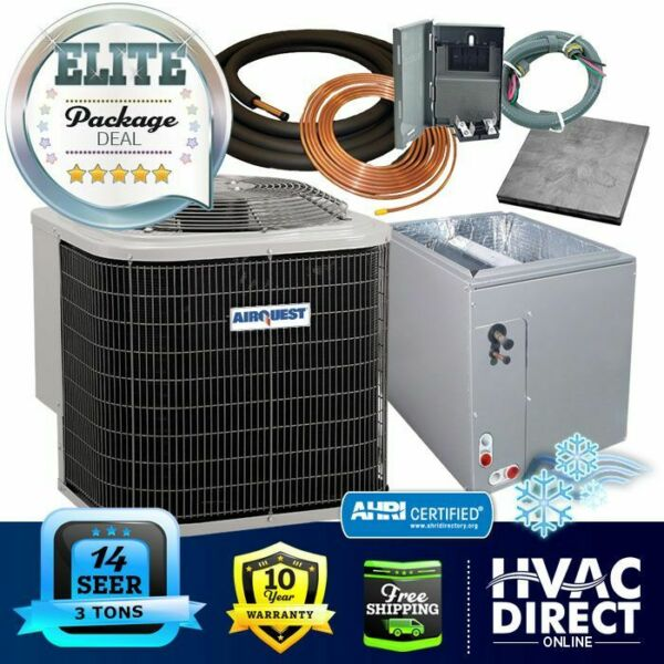 3 Ton 14 SEER AirQuest Heil by Carrier ACCoil System Line Set Install Kit $1836.00