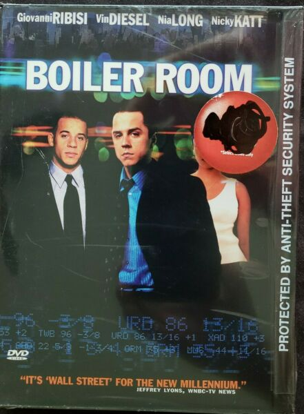 Boiler Room DVD 2000 Snapcase Giovanni Ribisi Vin Diesel Brand New Sealed $7.96