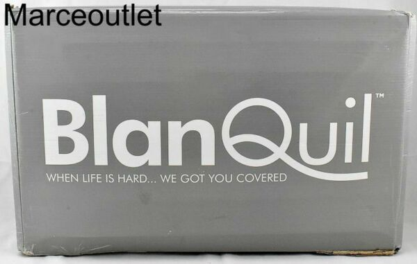 BlanQuil Quilted Weighted Blanket 20 Lbs 48