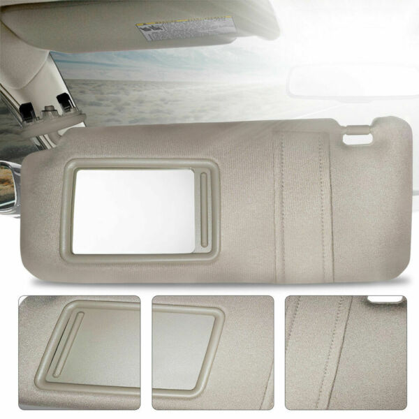 New Driver Side Brown Windshield Sun Visor Without Sunroof for Camry 2007-2011 $17.98