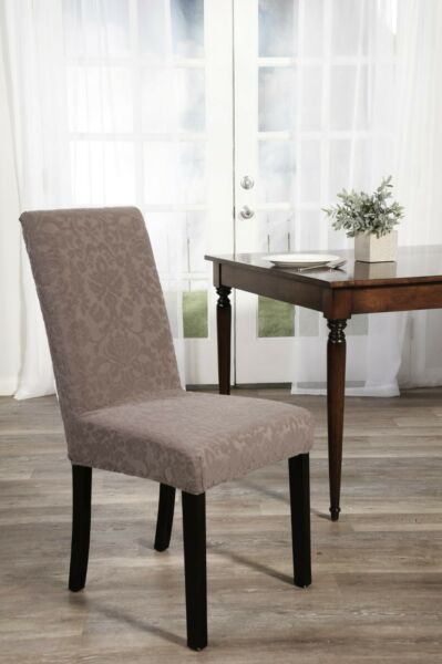 Stretch floral Dining Chair Slipcover with set of 2 2 covers $19.99