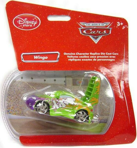 Disney Store Pixar Cars Exclusive Wingo Die Cast NEW Free Shipping