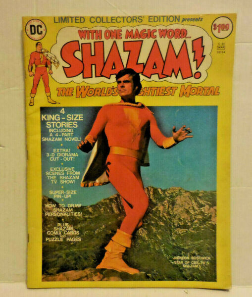 SHAZAM TREASURY LIMITED COLLECTORS EDITION DC COMICS C 35