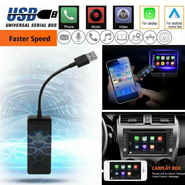 USB Dongle Android Auto Navigation Player Smart Link for Android Phone CarPlay