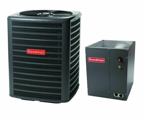 Goodman 13.0 SEER 2.5 TON 28k BTU partial split air conditioning system