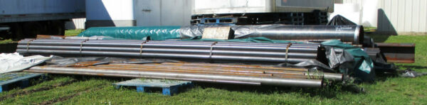 15 Truck Loads of Mixed Steel  Stainless Steel Round Square Solid