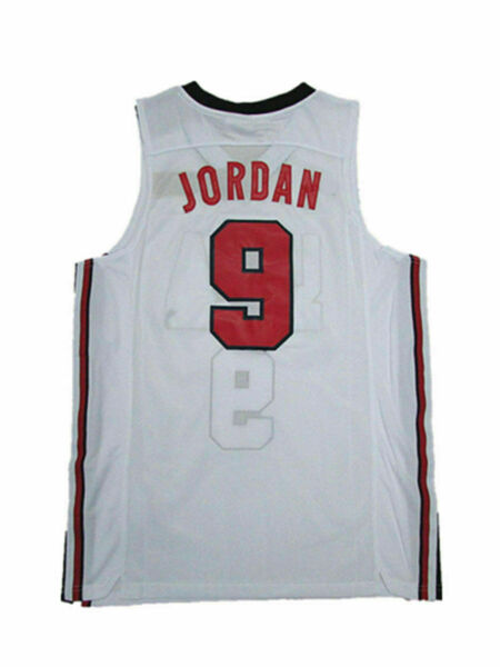 Michael Jordan Jersey 1992 USA Dream Team Olympic Blue White Basketball Jersey