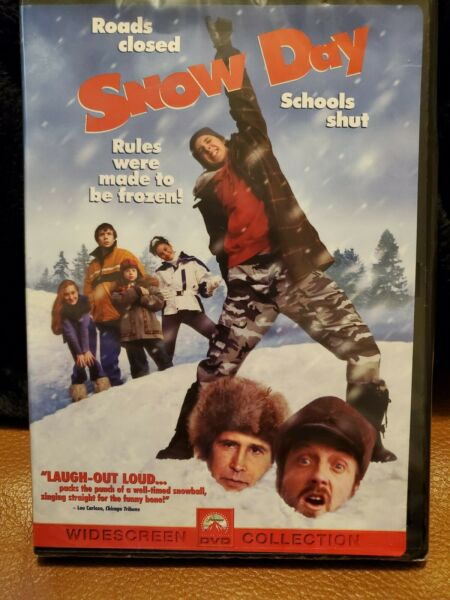 Snow Day DVD widescreen Brand New (Chevy Chase Chris Elliot Jean Smart)