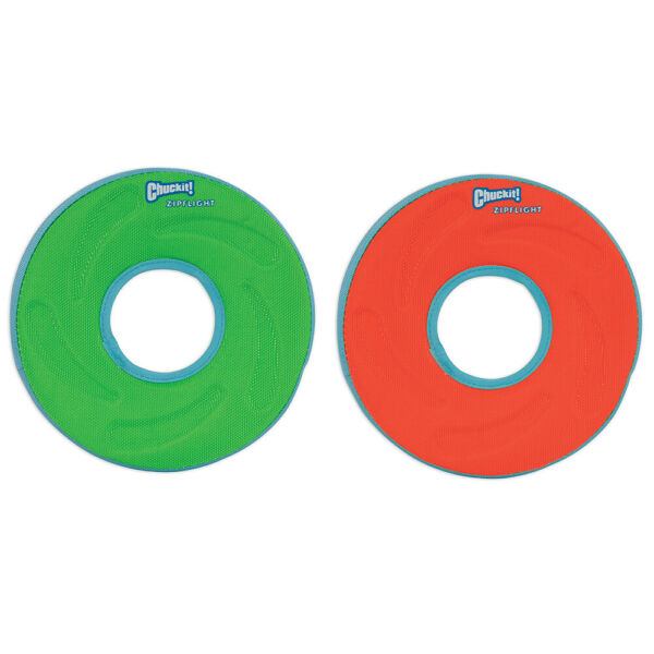 New Chuckit!-Zipflight Flyer-Dog Puppy Flydisc Floats Toys for Long Time Play $17.38