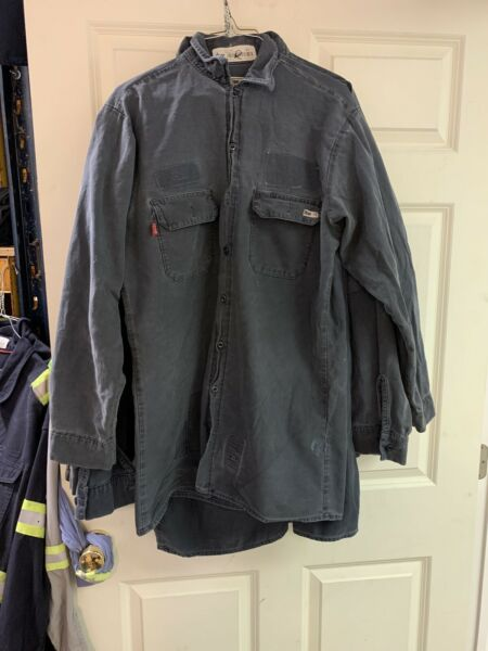 PPE REED MEN#x27;S SHIRTS FR FRC HRC2 FLAME RESISTANT Good Used number 2 $9.99