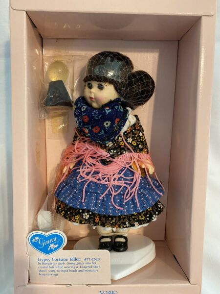 Vogue Gypsy Fortune Teller Poseable Ginny Doll! #71-2620