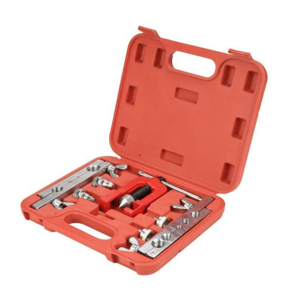 3 16mm Manual Pipe Flaring Expander Tool Copper Heads Tube Swaging Kit $83.29