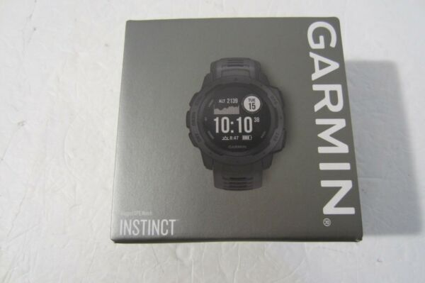 Garmin Instinct Rugged Reliable Fitness Watch With GPS - Graphite 010-02064-00