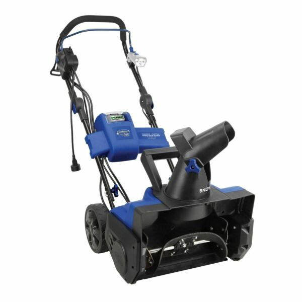 Snow Joe Hybrid Snow Blower 18-Inch 40 Volt  13.5 Amp  Certified