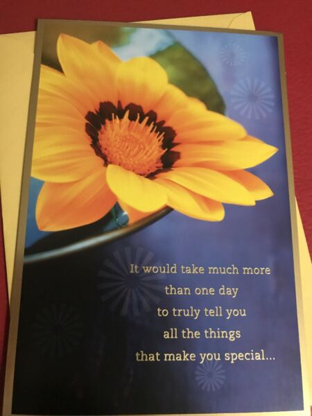Hallmark Happy Birthday Greeting Card To Someone Special/Friend Beautiful Card