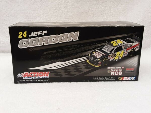 RARE!! 2009 Jeff Gordon National Guard Year of the NCO 124 - 1 OF 2000 I-9343H