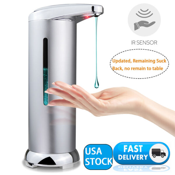 Automatic Soap DispenserTouchless Electric Soap Dispenser with Visiable Window  $16.99
