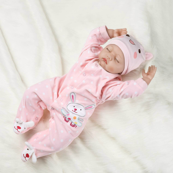 PENSON amp; CO. 22quot; Reborn Newborn Baby Doll Realistic Lifelike Baby for Ages 3 $53.99