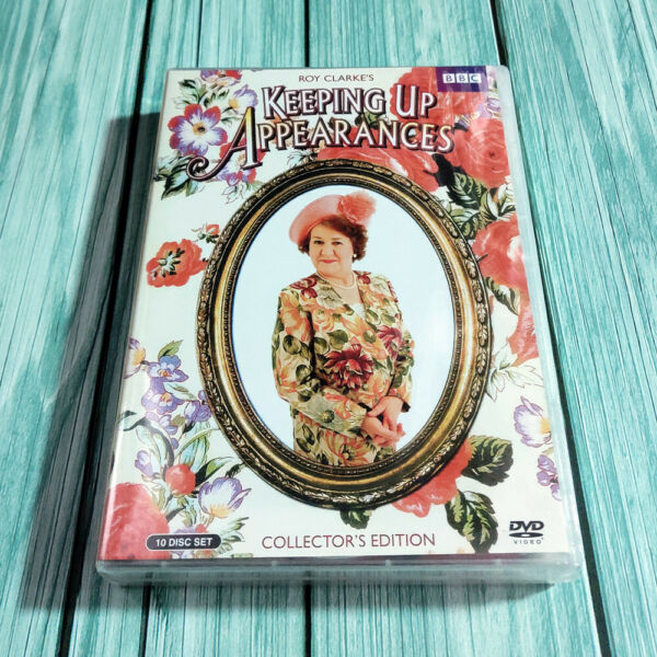 Keeping Up Appearances Collector#x27;s Edition Complete Series DVD Fast shipping new $27.90