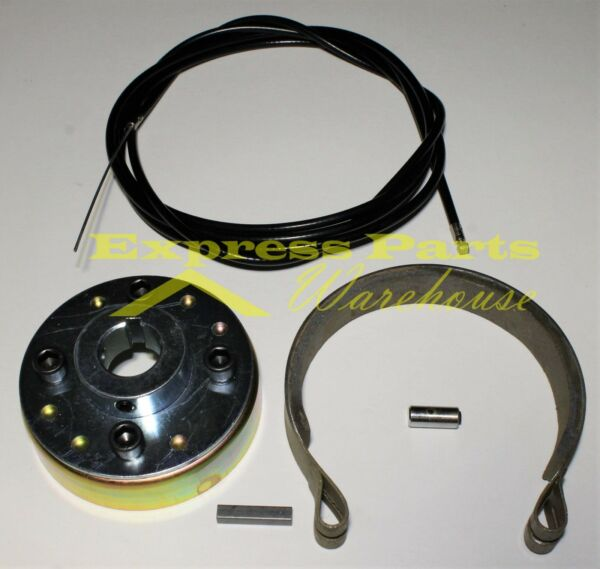 Go Kart Mini Bike 4quot; Brake Drum And Hub With Band Cable 1 1 4 inch Live Axle. $49.95