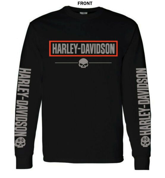 HARLEY DAVIDSON LOGO GRAPHIC - LONG SLEEVE T-SHIRT $23.99