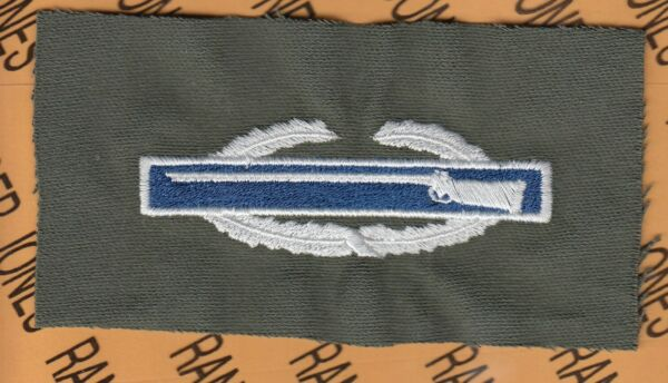 US Army CIB Combat Infantrymans Badge OD Green amp; Color cloth patch