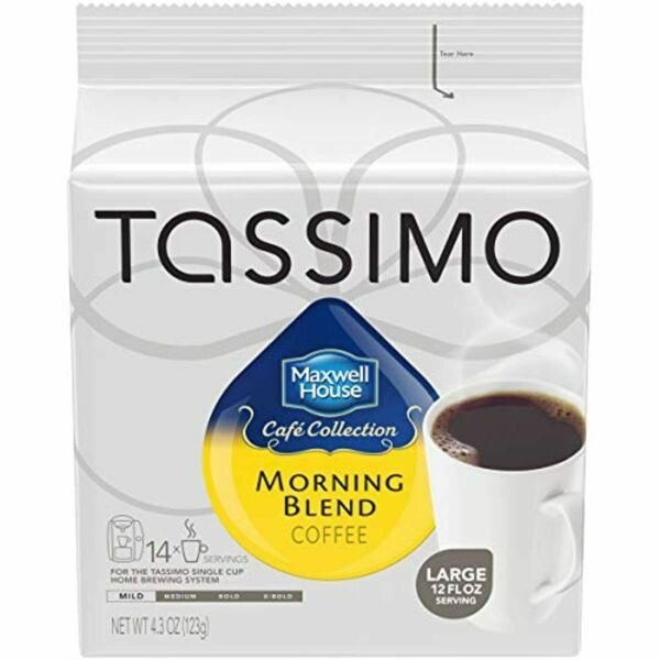 Maxwell House Morning Blend Ground Coffee T Disc for Tassimo Brewing Sys 70 ct.