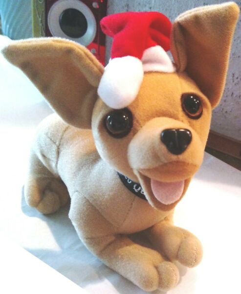 Chihuahua DOG Taco Bell Plush Stuffed animal APPLAUSE 6quot; SILENT $4.99