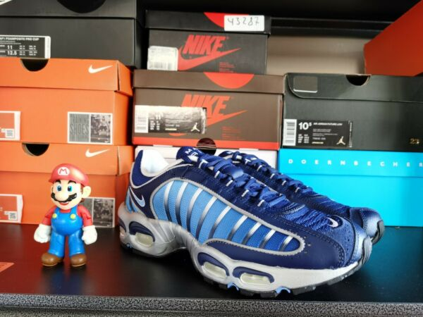 Nike Air Max Tailwind IV 4 Running Shoes Blue Void University   AQ2567-401