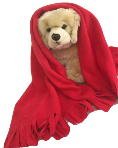 RED HEART DISEASE Fuzee Fleece Dog Blankets Soft Pet Blanket Cover $16.20