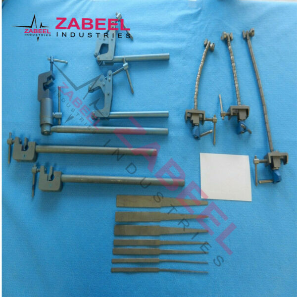 Surgical Orthopedic Neuro Titanium Retractor Set By ZaBeel Industries