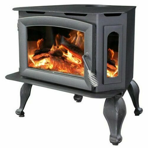 Ashley AW180 BL Bay Front Wood Burning Stove with Legs Insert Refurbished $1200.00