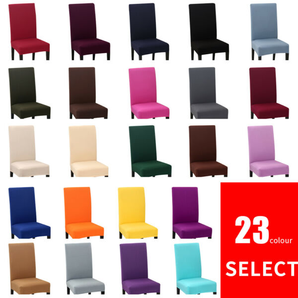 Dining Chair Covers Removable Stretch Universal Soft Protective Cover Slipcover1 $3.99