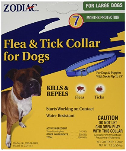 Dog Dogs Puppy Flea & Tick Collar 7 Months Control Protectiction Water Resistant $5.05
