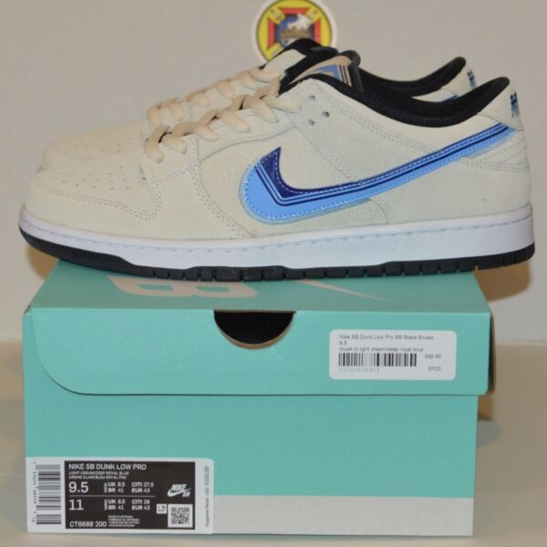 Nike Dunk Low SB Truck It NEW Size 9.5 Cream 100% Authentic DS