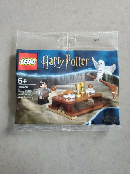 LEGO 30420 Harry Potter and Hedwig Owl Delivery Polybag 30420 new sealed