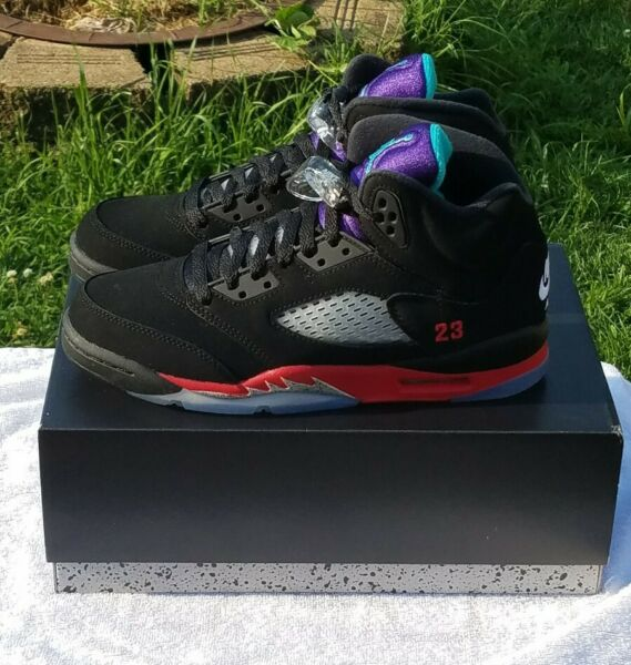 Air Jordan 5 Retro Top 3 Brand New In Hand Size 7Y CZ2989-001 24 hour Shipping❗️