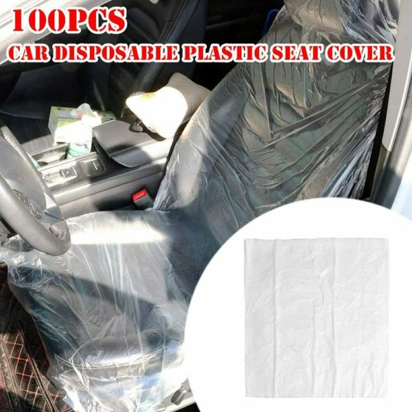 100pcs Disposable Car Seat Covers 57quot;x 31quot; For Car Truck SUV Vehicle $19.12