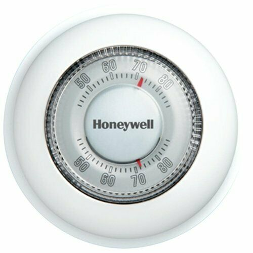 Honeywell CT87N1001 Round Heat Cool Manual Thermostat $16.99