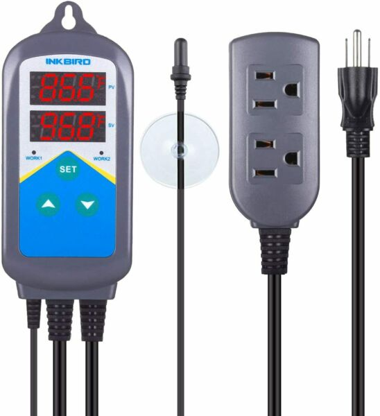 Inkbird Digital Reptile Heat Thermostat Temperature Control 306T Aquarium 110V $39.99