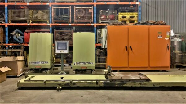 WAYNE TRAIL  PART TRANSFER SYSTEM FOR LARGE PUNCH PRESSES