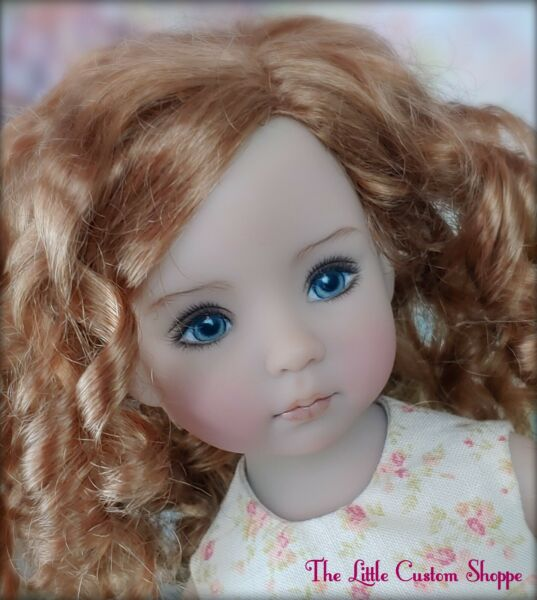 Dianna Effner Little Darling Doll painted by Geri Uribe  13 inch Poupee Puppen