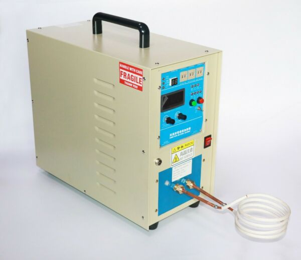 15KW High Frequency Induction Heater Furnace 30 100KHz 220V $1091.41