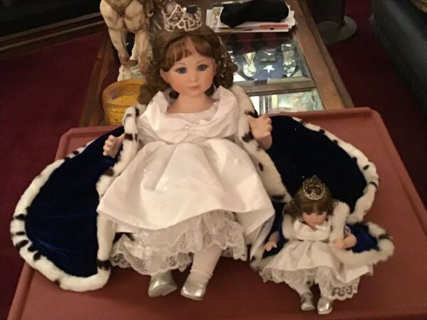 Marie Osmond Doll Baby Miss America Toddler And Tiny Tot Porcelain Dolls LE