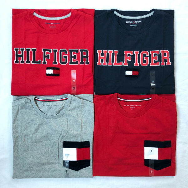 Tommy Hilfiger T Shirt Mens Crew Neck Tee Classic Fit Short Sleeve Shirt $34.99
