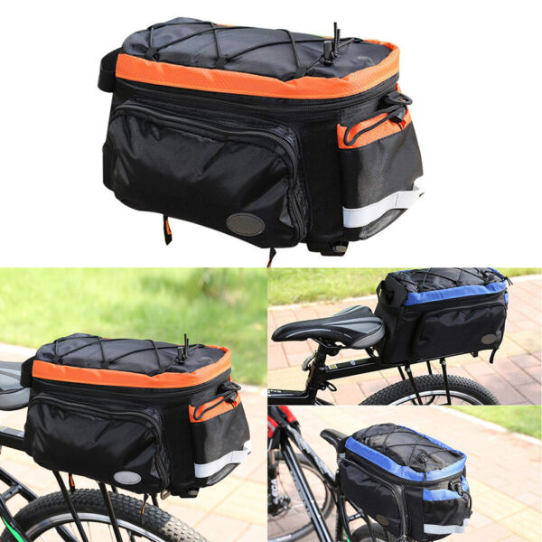 Luggage Storage Rear Rack Lightweight Waterproof Outdoor Cycling Bike Trunk Bag $30.44