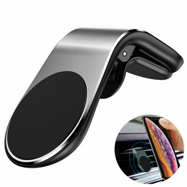 Magnetic Car Mount Car Phone Holder Stand Air Vent For iPhone Android Samsung $3.99