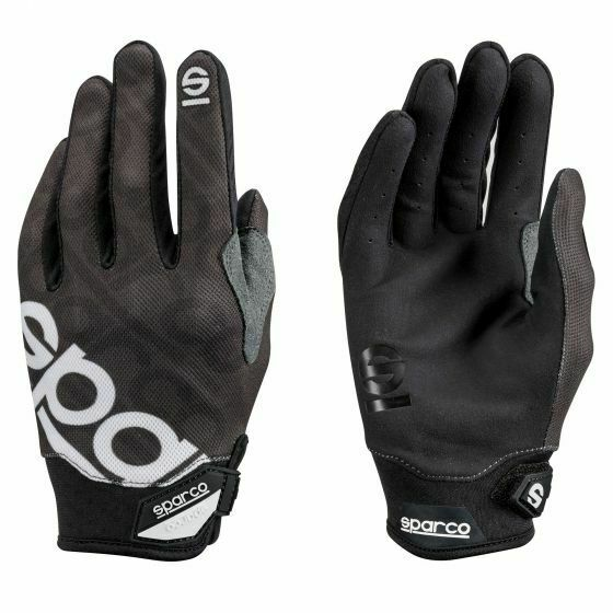 Sparco Gloves Meca 3 Car Bike Mechanics SMW002093 Small Black $42.99