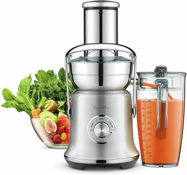 Breville BJE830BSS1BUS1 Juice Founatin Cold XL Brushed Stainless Steel Centrifu